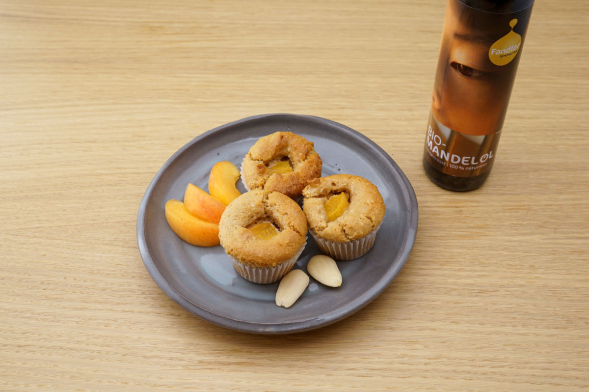 Mandel-Marillen-Muffins